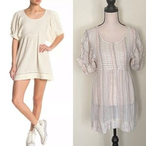 NWOT Free People Elsie Puff Sleeve Tunic Size XS